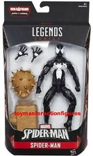 "MARVEL LEGENDS 6 "" SPIDERMAN WAVE 7 SYMBIOTE SPIDER-MAN SANDMAN BAF In Stock"