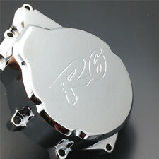 Engine Stator cover for Yamaha YZF-R6 YZF R6 2006-2009 CHROME left side motorcyc