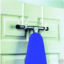 OVER THE DOOR IRONING BOARD HOLDER  HANGER   NEW