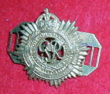 BE86 Canadian Army cap badge of theService Corps