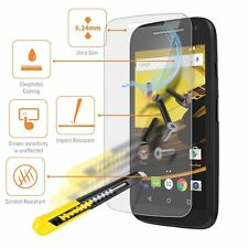 Real Tempered Glass Film LCD Screen Protector For Motorola Moto E