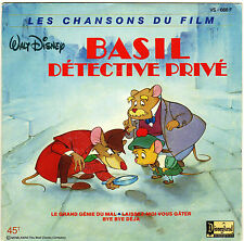 BOF BASIL DETECTIVE PRIVE FRENCH ORIG EP OST
