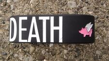 Glamour Kills Fresh To Death Flying Pig Rubber Bracelet