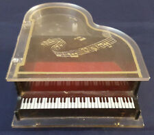 Baby Grand Piano Musical Jewelry Box by Sankyo Vintage (Plays Laura's Theme)