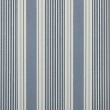 "Clarke and Clarke Sail Stripe Cloud Fabric 137cm/ 54"" Wide"