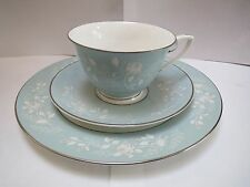 ROYAL WORCESTER BRIDAL ROSE CUP, SAUCER AND PLATE   Z2738