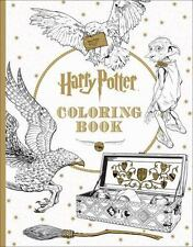 Harry Potter Adult Coloring Book - Creative Art Sketch Colored Pencil Pen Marker