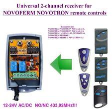 NOVOFERM NOVOTRON 502, MAX43-2, MCHS43-2 compatible universal 2-channel receiver