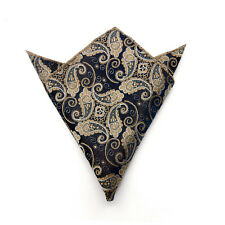 Men's Suit Pocket Towel Hanky Wedding Silk Polyester Pocket Handkerchiefs 9#