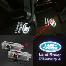 2x CREE LED Door Courtesy Laser Shadow Lights For 2010-13 Land Rover Discovery 4