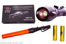 T6Taschenlampe CREE LED-Bailong BL-8668 Bis Lumen100.000 Lumen-mit2x8800mAh Akku