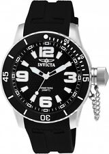 Invicta Men's Specialty Quartz Stainless Steel Black Polyurethane Watch 1670