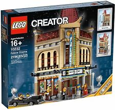 BRAND NEW CREATOR MODULAR PALACE CINEMA SET #10232, RETIRED, VERY HARD TO FIND