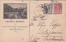 # BADIA DI CAVA: COLLEGIO S. BENEDETTO - 1922