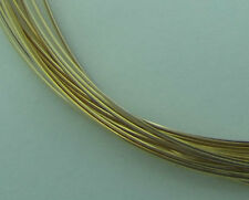Wrapping Wire 12Kt gold-filled full-hard half-round 21 gauge 5' GF FH HR 21GA