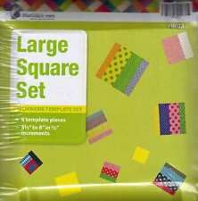 Matilda's Own Large Squares Patchwork Template Set