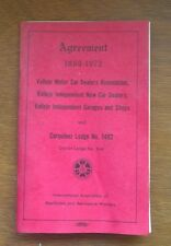 International Association of Machinists & Aerospace Workers 1969-72 Agreement