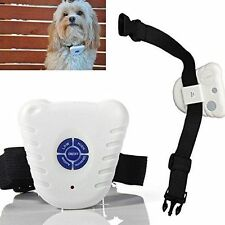 Advanced Stop Barking Dogs Dog Anti Bark Stopper Collar Training Device for Pets