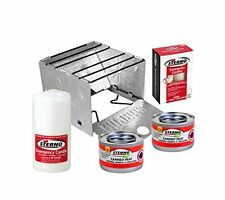 Sterno Preparedness Survival Kit Emergency Stove Heater Fuel Candles Food Light