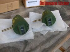 US Military Truck Jeep M151 M38 Front Blackout Marker 24V Bullet Light (Pair)