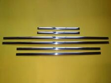 Mercedes Benz Ponton W180 220S, door moulding set with clips. New.