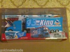 DISNEY PIXAR Cars Diecast 43 The King Gray Hauler #3 Race O Rama Brand NEW