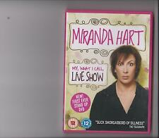 MIRANDA HART MY WHAT I CALL LIVE SHOW DVD STAND UP COMEDY