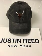 Travis Scott rodeo tour merch vintage washed black hat - os