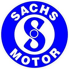 "#872 (1) 3.5"" Sachs Motor Scooter Moped Motorbike Motorcycle Decal Sticker Lam."