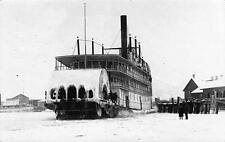Photo. 1914-6. Canada. Sternwheeler Ship on Okanagan Lake