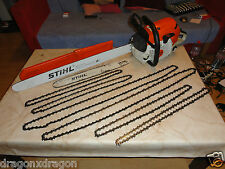 STIHL MS 441 Motorsäge mit 100er & 50er Schwert, 5x Ketten, 5,7PS, 1J. Garantie