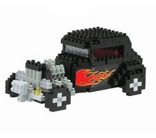 Nanoblock Hot Rod (300 Unidades) Mini Ladrillos Puzzle Gran Regalo