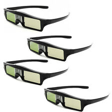 4x New 144Hz Ultra Slim 3D DLP-Link Active Glasses for Acer Optoma NEC Samsung