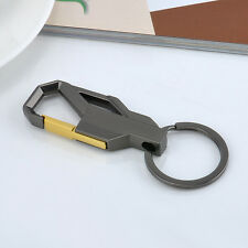 Mens Personalized Alloy Metal Keyfob Gift Car Keyring Keychain Key Chain Ring 3D