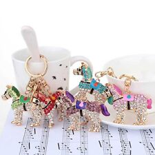 Kawaii Fashion Dreamlike Crystal Horse Prince Keyring Keychain Pendant Key Chain