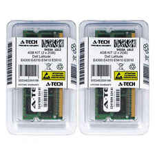 4GB KIT 2 x 2GB Dell Latitude E4300 E4310 E5410 E5510 PC3-8500 Ram Memory