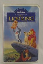 The Lion King Walt Disney Masterpiece Collection VHS 1995 ultra rare 155/312