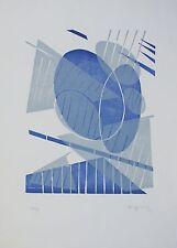 Silvano BOZZOLINI Xilografia a Sette Legni su Carta cm 50x70 anno 1969 es. 83/99