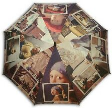 Vermeer collection painting longsize automatic umbrella