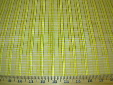 ~32 YDS~100% SILK~STROHEIM&ROMANN~STRIPE~EMBROIDERED UPHOLSTERY FABRIC FOR LESS~