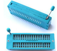 10PCS 40pin ZIF Sockets for IC Chip Test Universal IC programmer Processo