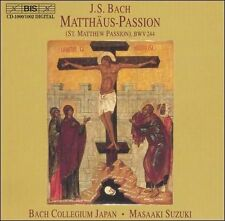 St Matthew Passion (Bach Collegium Japan, Suzuki) CD NEW