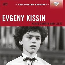 Russian Archives: Evgeny Kissin Plays Chopin, Chopin, Liszt, Kissin, Moscow Ph,