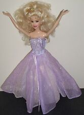 Glamorous Barbie Doll Collectors 2005 Two Way Dress 2168 Long Blond Curly Hair