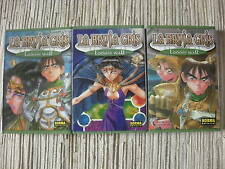COMIC RECORD OF THE LODOSS WAR LA BRUJA GRIS COMPLETA 3 TOMOS USADO BUEN ESTADO