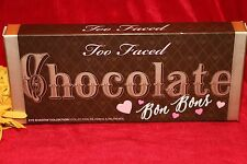 TOO FACED CHOCOLATE BON BONS EYESHADOW PALETTE 16 SHADES NEW IN BOX AUTHENTIC
