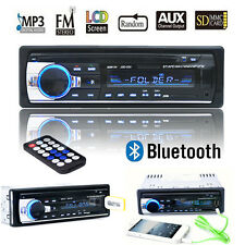 Bluetooth Car In-Dash Stereo Audio Radio FM MP3 Player AUX Input Receiver SD USB