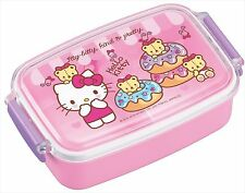 Bento Sanrio Hello Kitty Design Microwavable and Dishwasher Safe Lunch Box F/S