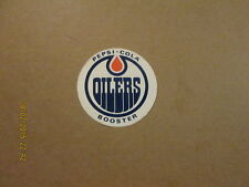 WHA Oilers Vintage Pepsi-Cola Booster Hockey Sticker