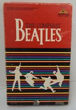 MGM/UA  THE COMPLEAT BEATLES VHS Cassette